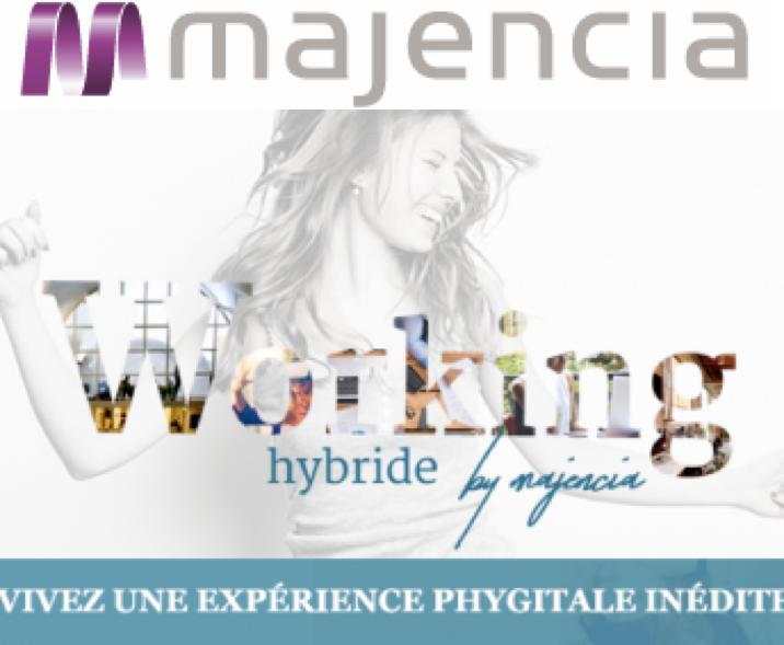 Logo société Majencia