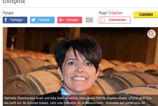 TCHIN&Co dans La Dépêche !