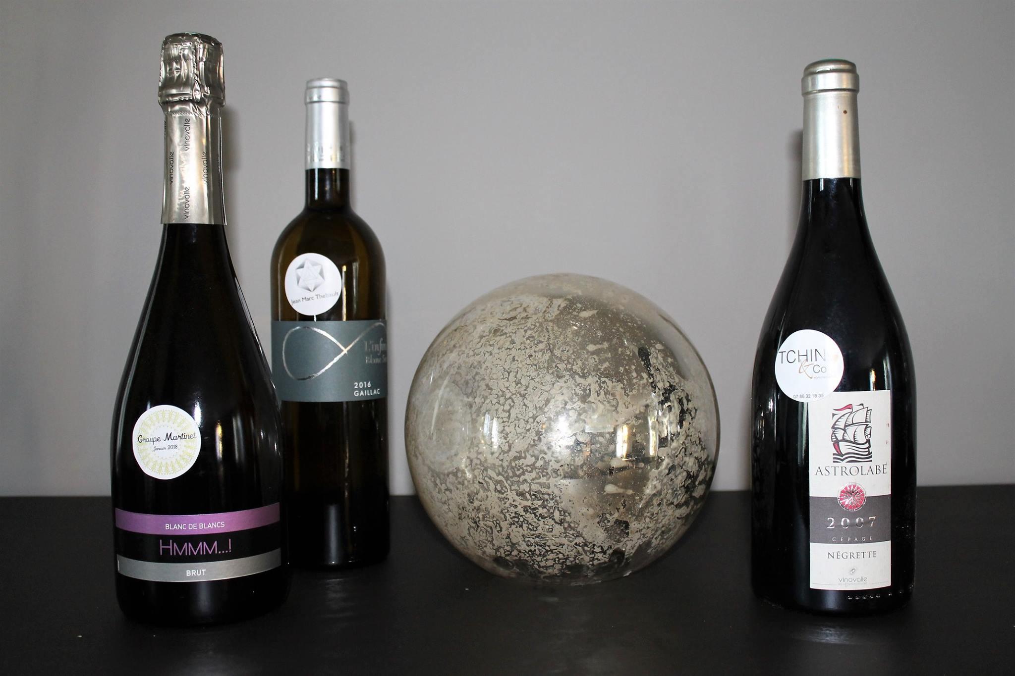 Stickez vos bouteilles de vins !